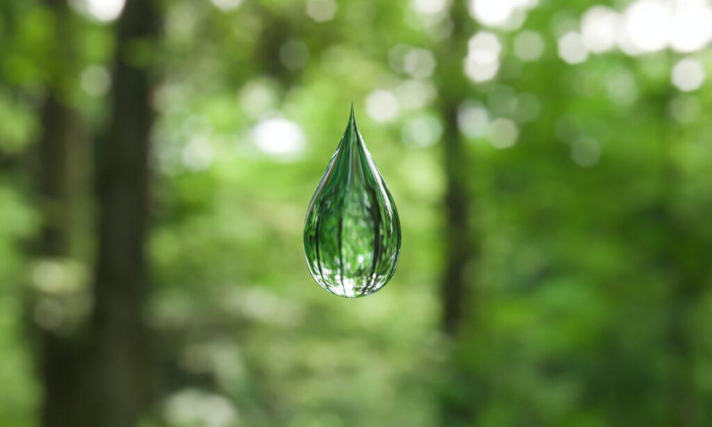 water capture material